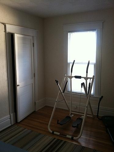 Second bedroom of 129 Bulkey in Kalamazoo, Michigan.