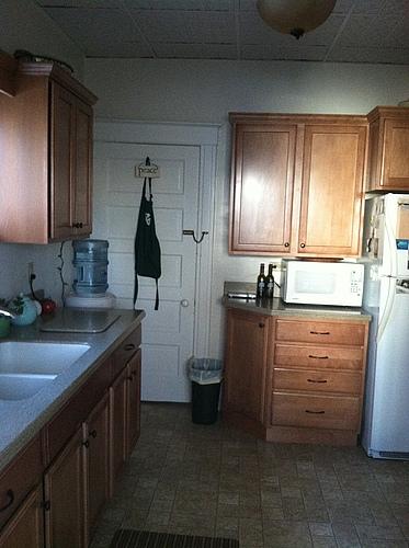 Kitchen of 129 Bulkey in Kalamazoo, Michigan.