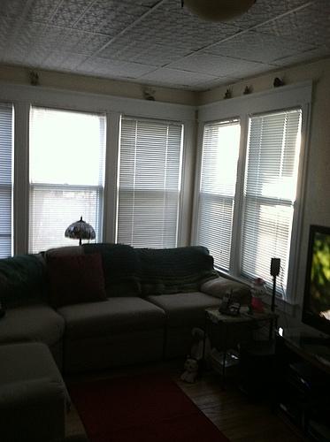 Sunroom in 129 Bulkey in Kalamazoo, Michigan.