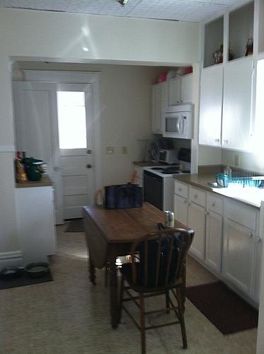 Kitchen at 133 Bulkley in Kalamazoo, Michigan.