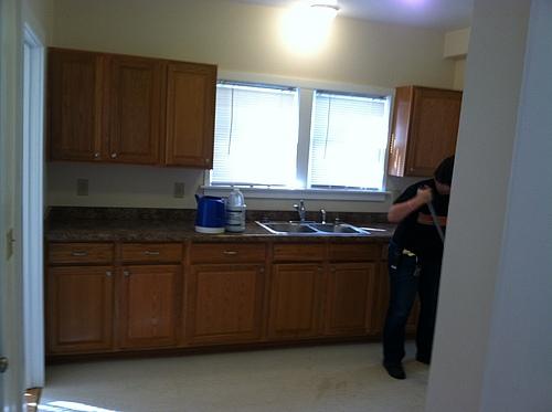 Kitchen at 408 Stanwood in Kalamazoo, Michigan.